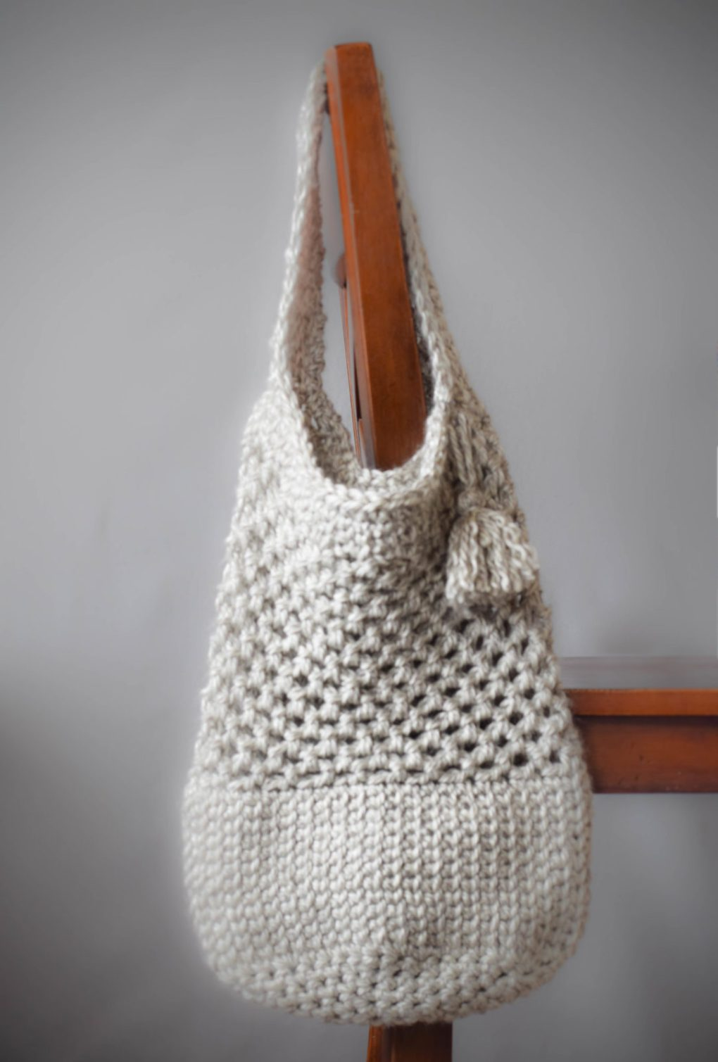 Manhattan Market Tote ? Crochet Pattern