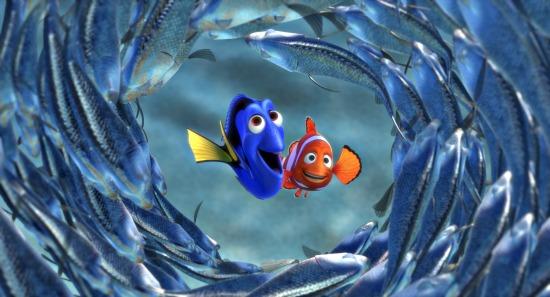 Buscando a Nemo Dori y Marlin