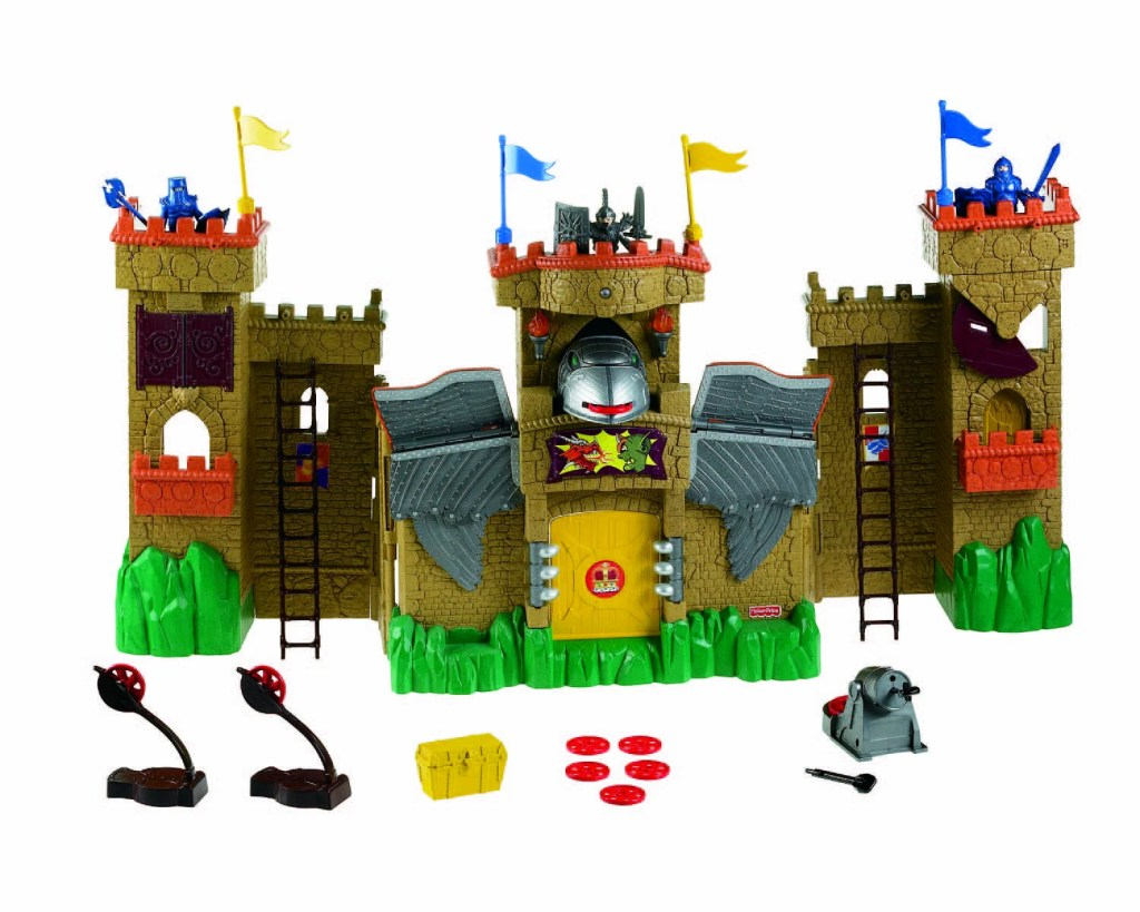 Imaginext Eagle Talon Castle Giveaway #WatchItToWinIt Holiday Event