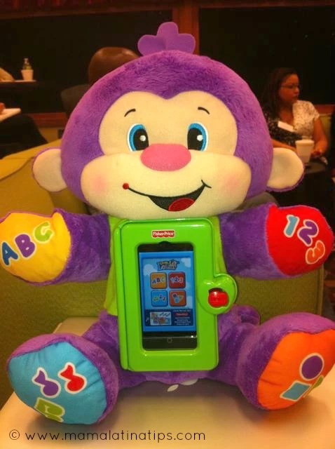 Laugh & Learn Apptivity Monkey Giveaway #WatchItToWinIt Holiday Event