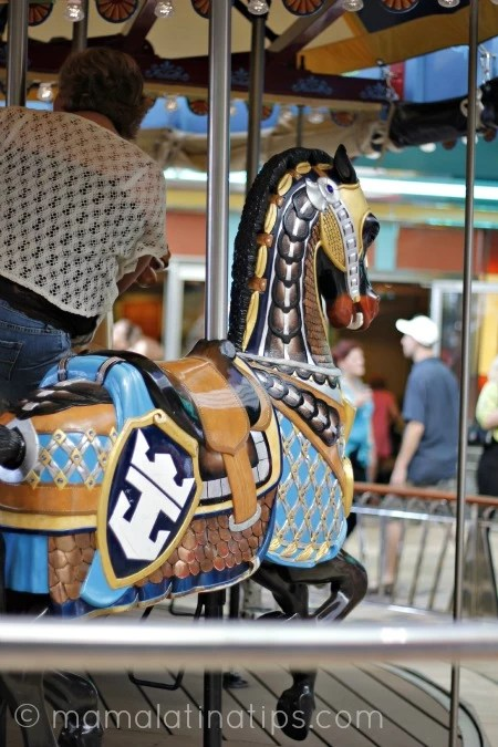 Carrousel in Allure of the Seas