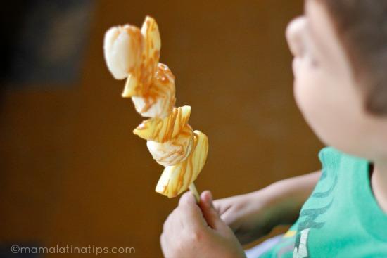 Peanut Butter Kebab MamaLatinaTips