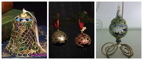 Chrismas glass ornaments