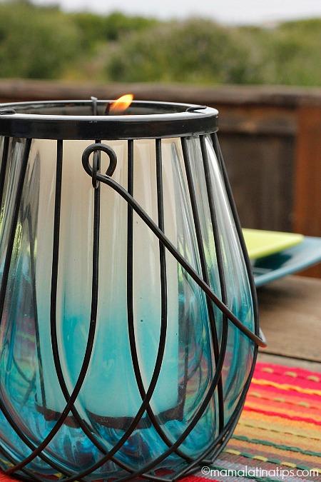 lantern from Pier1 - mamalatinatips.com