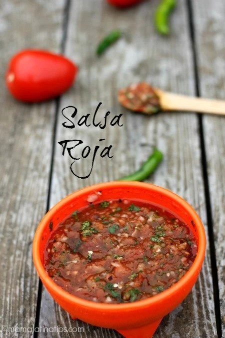 Chunky Red Salsa Recipe - Mama Latina Tips