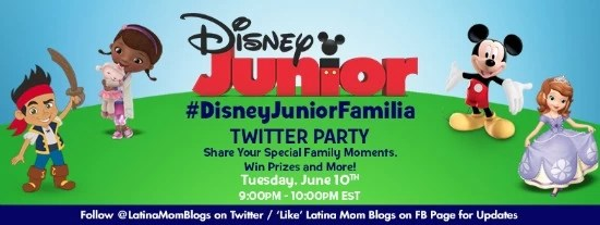Disney Junior Twitter Party