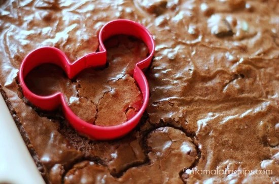 Mickey chocolate mint brownies