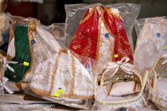 Ropones de ninito Jesus para el dia de la candelaria