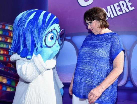 Phyllis Smith at Inside Out premier - mamalatinatips.com