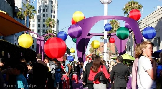 Pre-party Inside Out world premier - mamalatinatips.com