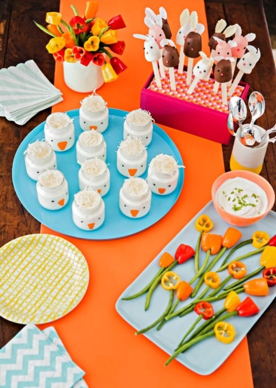 No Cook Kid Snacks for Spring - mamalatinatips.com