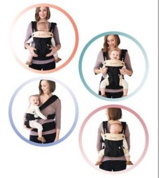 Test - avis de Maman : le porte-bébé Ergobaby 360
