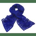 echarpe-maille-bleu-klein-