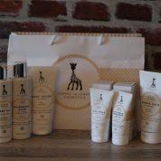 Sophie la girafe lance sa gamme de cosmétiques bio pour bébé !