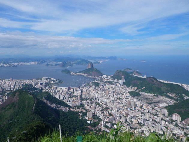 Rio vue du Christ