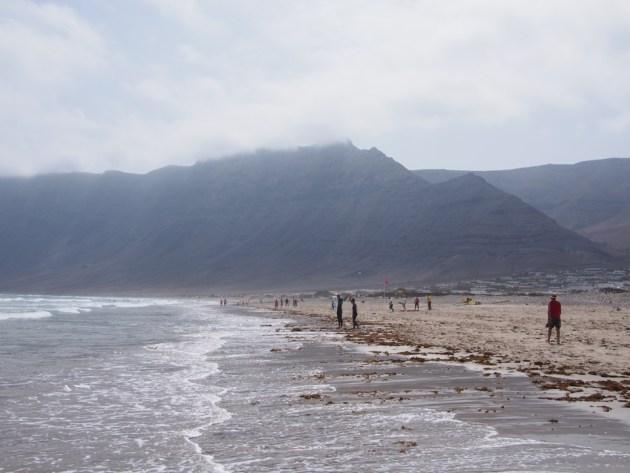 Plage de Famara Lanzarote