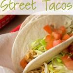 Crock Pot Chicken Street Tacos