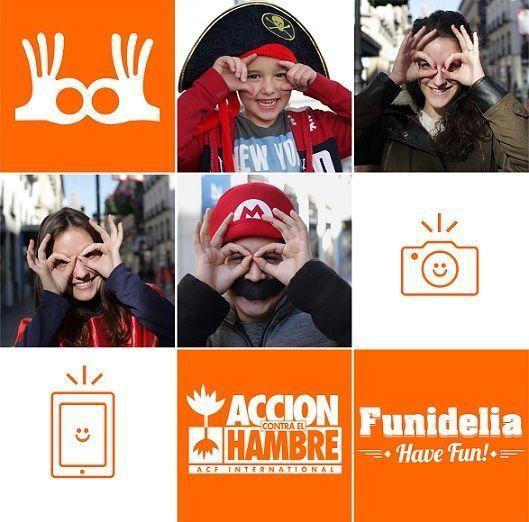 Solidaridad durante el carnaval con #SmileForAction,