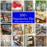 100+ Organizational Tips