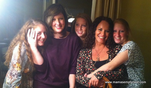 Our 5 Girls Thanksgiving 2011