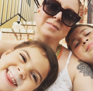 Two minutes with … Joanna Vargas, mama to Odin, aged 11 years and Ruby, aged 4 years