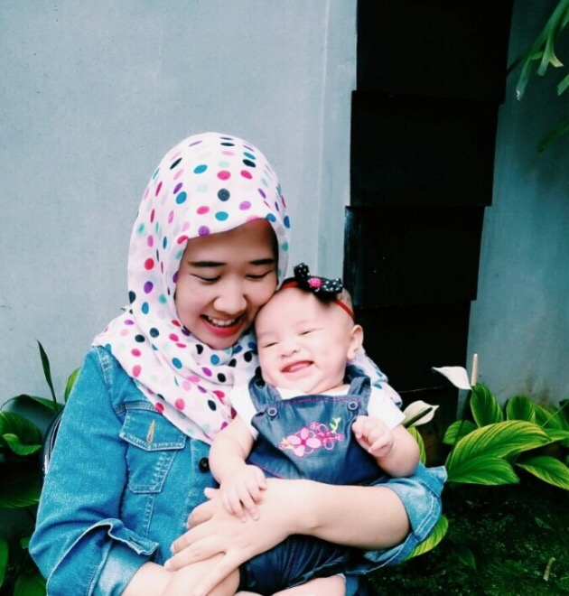 Two minutes with … Rembulan Azitaningrum, mama toAlea, aged 7 months
