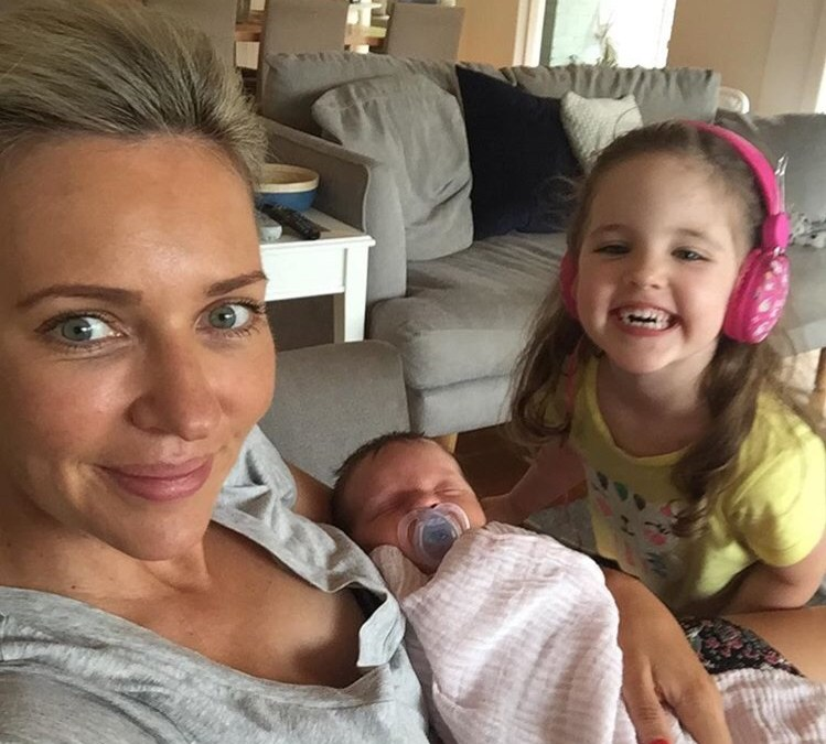 Two minutes with … Jacqueline Felgate, mama to Madison, aged 4 years and Georgia, aged 4 weeks