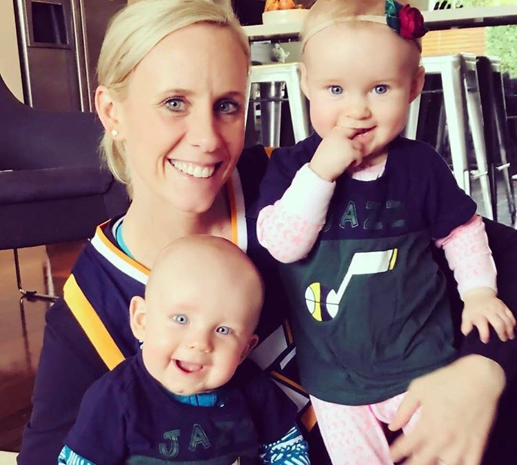 Two minutes with … Renae Ingles, mama to twins, Jacob and Milla, aged 9 months