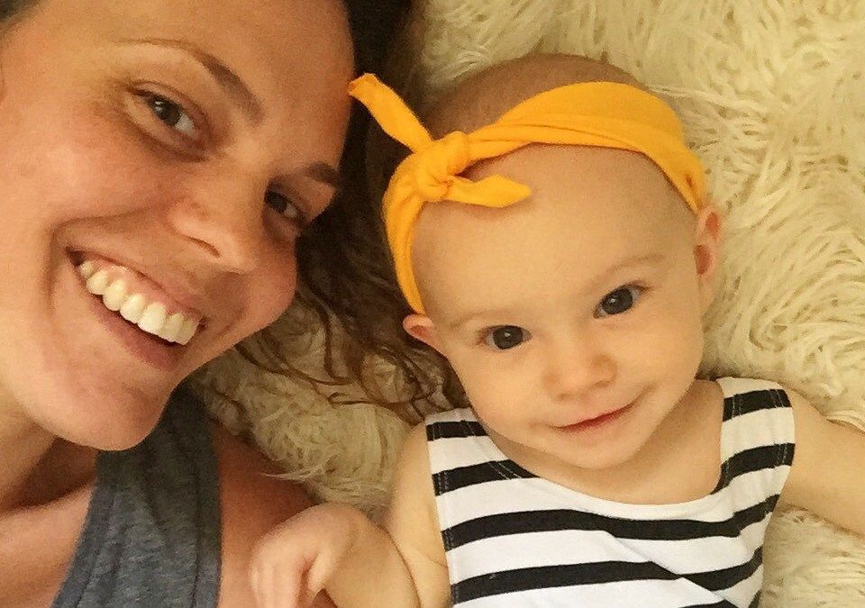 Two minutes with … Tricia Huffman, mama to Zia, aged 19 months (and due in July with another!)
