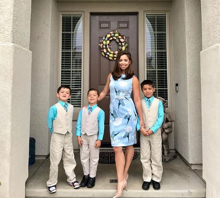 Two minutes with … Maria Kang, mama to Christian, aged 8 years, Nicholas, aged 7 years and Gabriel, aged 5 years