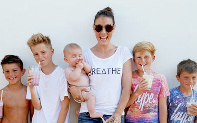 Two minutes with … Jess Warner, mama to Hugo, aged 11 years, Bruno, aged 10 years and Casper, aged 2.5 years and step mama to Noah, aged 15 years and Marley, aged 13 years