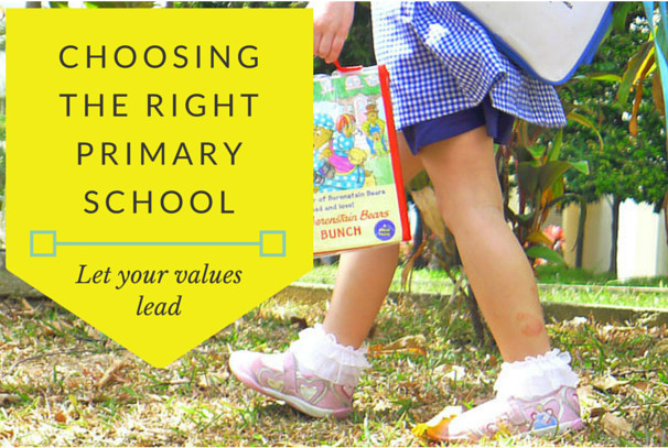 choosing the right primary school