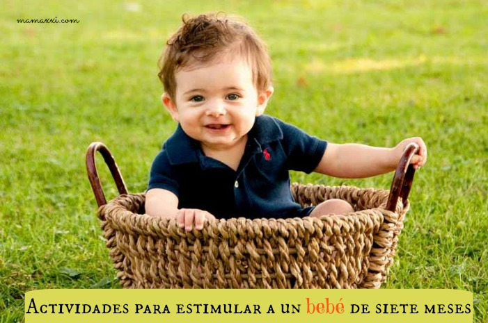 Actividades para estimular a un bebé de siete meses