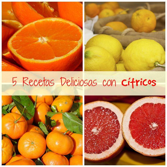 5 recetas con cítricos