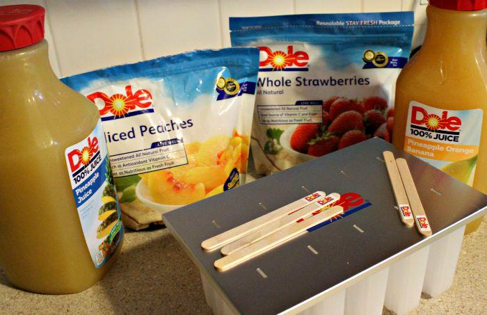 Dole Frozen Fruit Paletas