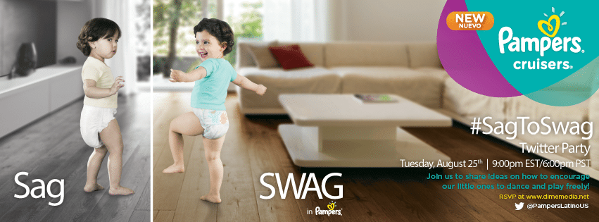 Pampers #SagToSwag TP Invite