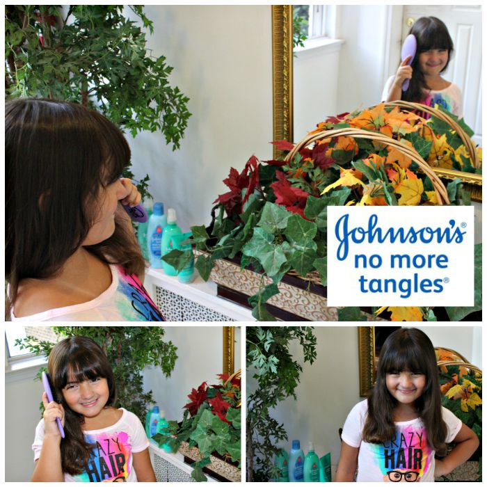Peinado fácil con Johnson's no more tangles