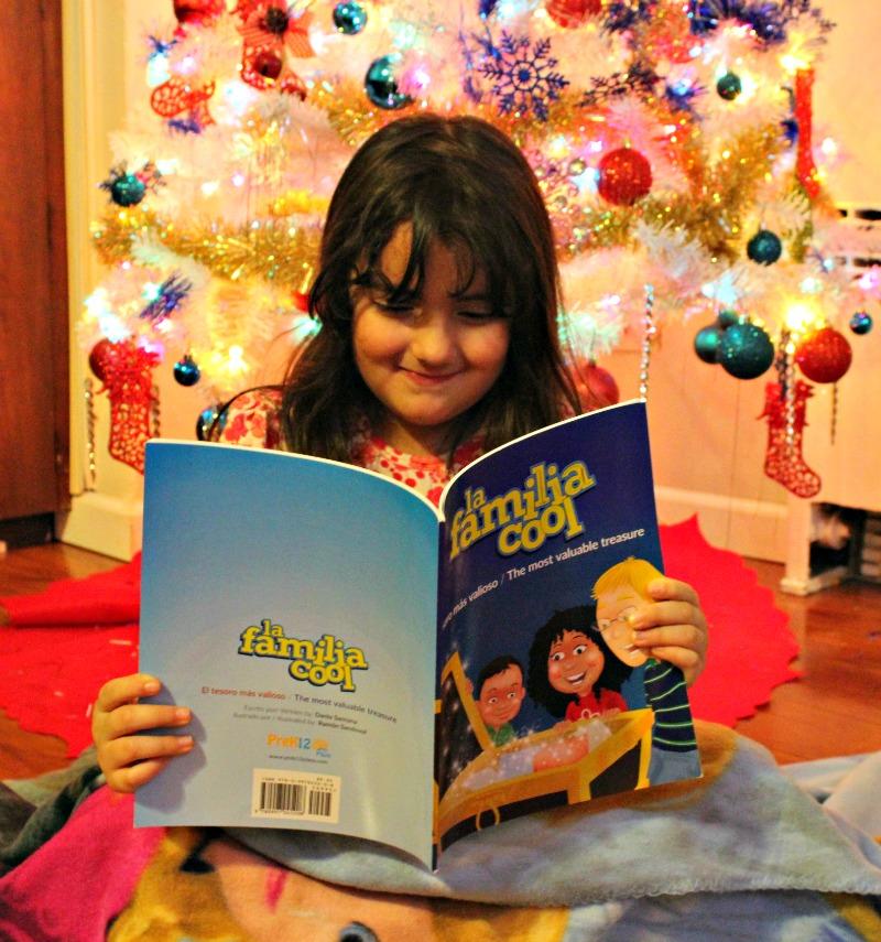 Libro de cuento para niños en inglés y español El Tesoro Más Valioso