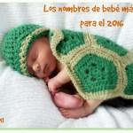 Los nombres de bebé más bellos para el 2016