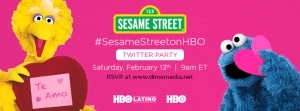 Fiesta en Twitter por el Día de San Valentín con Sesame Street