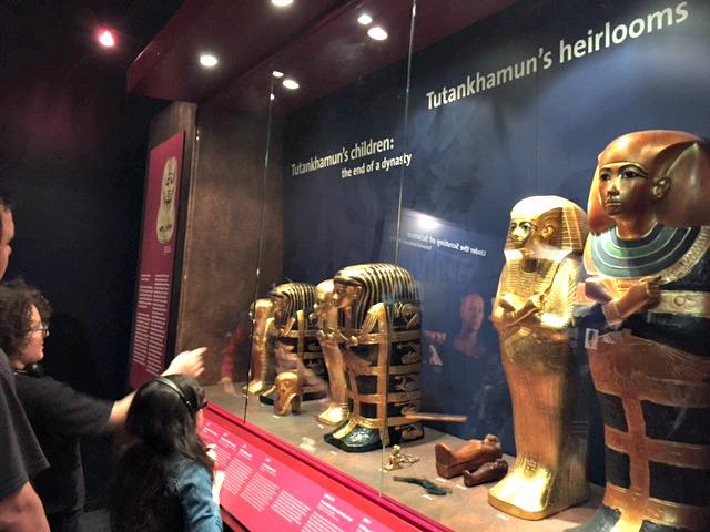 faraón, tutankamón, exhibición new york city, museo, egipcios