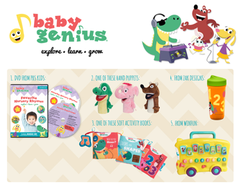 Learn & Grow with All-New Baby Genius and Giveaway