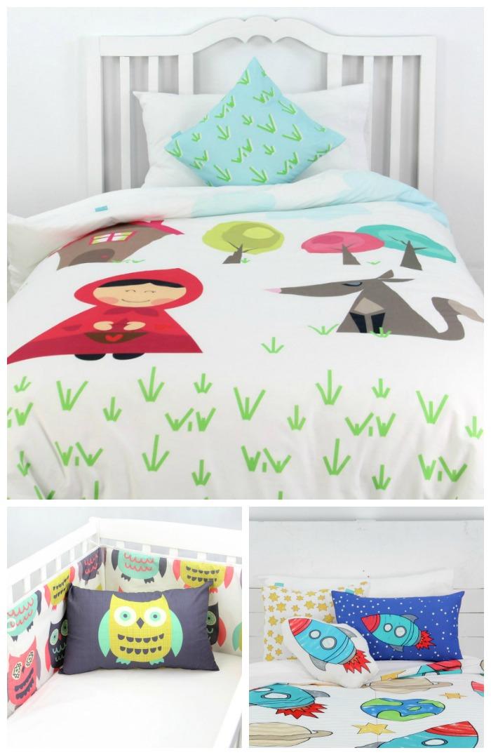 La ropa de cama de mr fox mamis y beb s - Ropa de cama para hosteleria ...