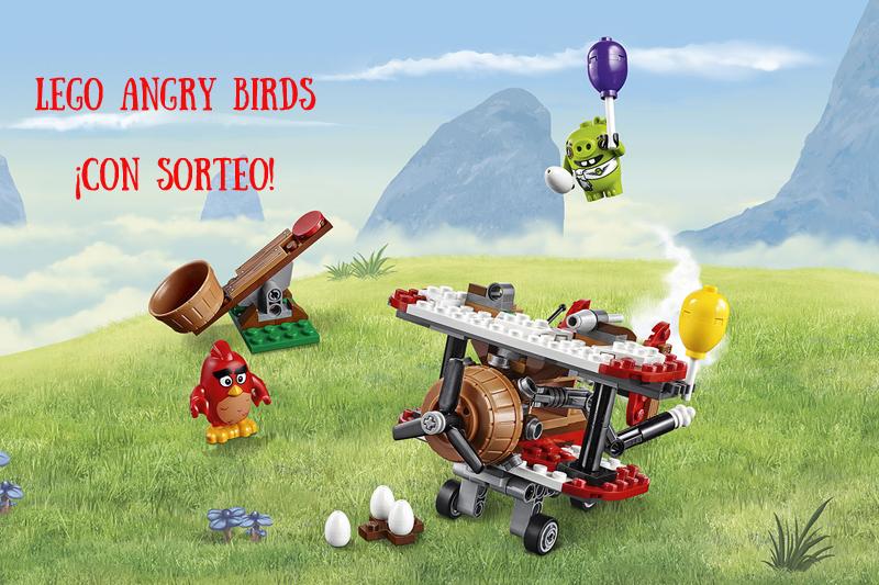 Lego Angry Birds ¡SORTEO de un kit!