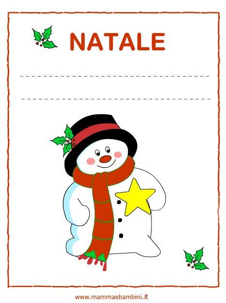 Copertine quaderni Natale in scuola natale