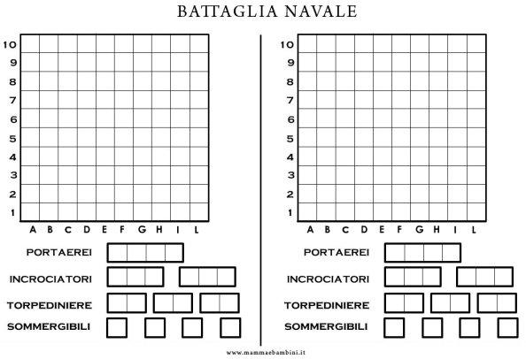 Gioco Battaglia Navale in giochi
