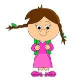 Contrassegni da colorare per bambini in scuola