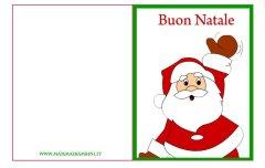 Biglietto auguri Natale da stampare n. 11