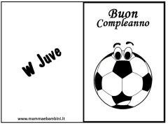 Biglietto compleanno Juventus