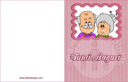 Lavoretto per la festa dei nonni in festa dei nonni